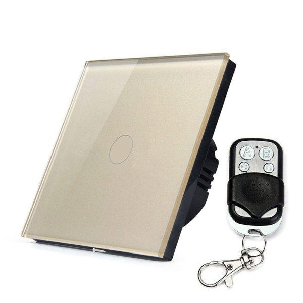 сензорен ключ с дистанционно златист