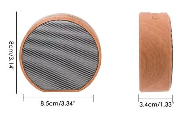 Bluetooth колонка размери