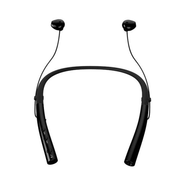 безжични слушалки спортни черни