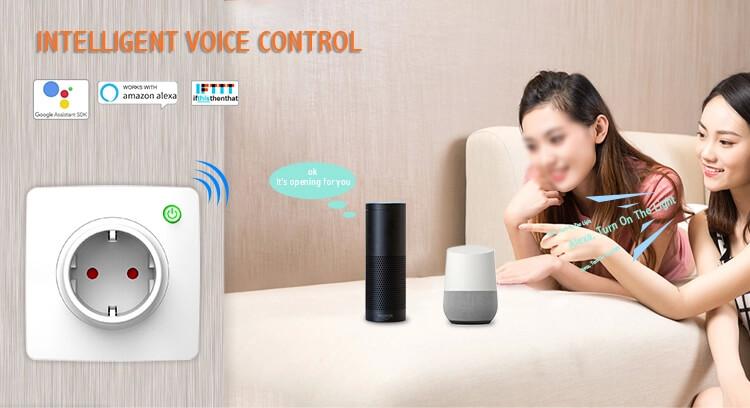 гласово управление на смарт контакт