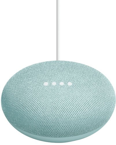 google home mini aqua