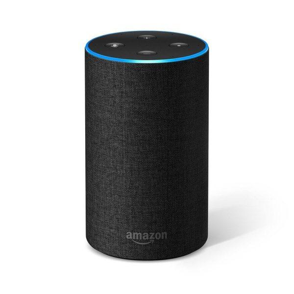 Amazon Alexa Echo 2 Gen Charocal цвят въглен