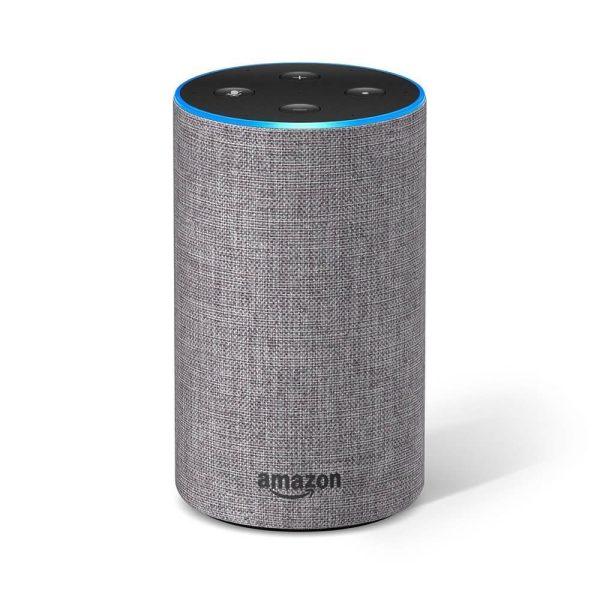 Amazon Alexa Echo 2 Gen Heather Gray цвят светло сив