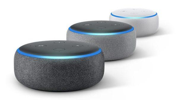 Echo Dot 3 цвята