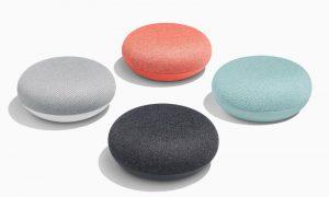 Гугъл хоум мини четири цвята