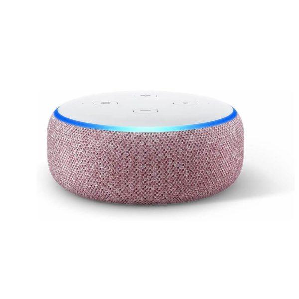 amazon alexa echo dot 3 pink