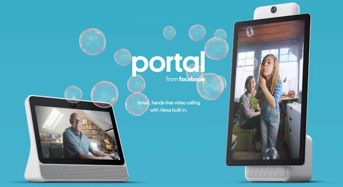 фейсбук портал видео разговори