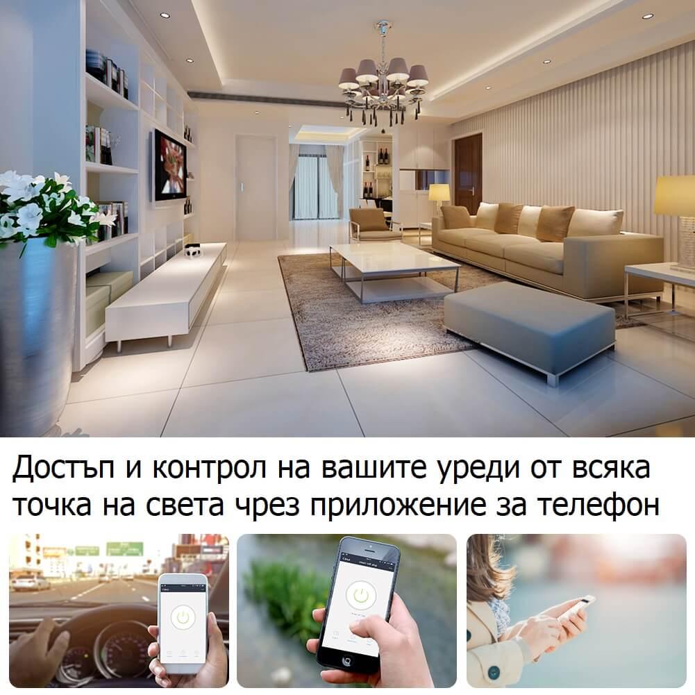 безжичен контрол на уредите