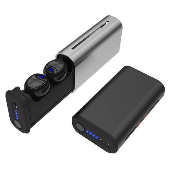 батерия на слушалките TWS