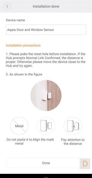 podravnqvane na senzor i magnit za vrata 4