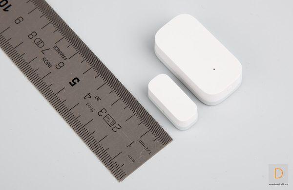 размер на сензор за прозорец