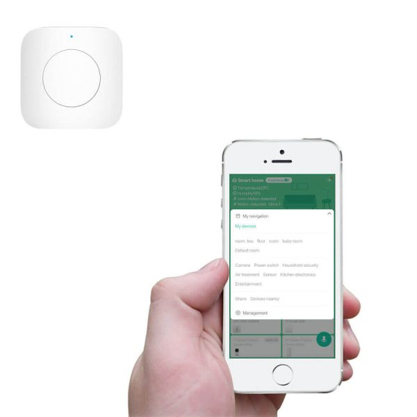 сдвояване на бутон с Mihome app