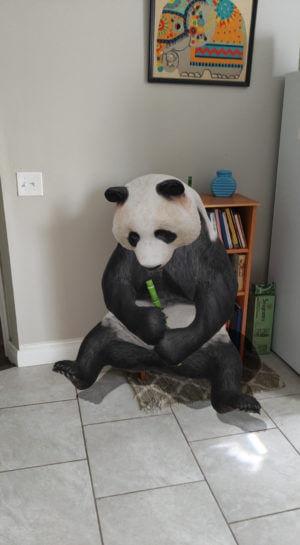 google 3d ar panda
