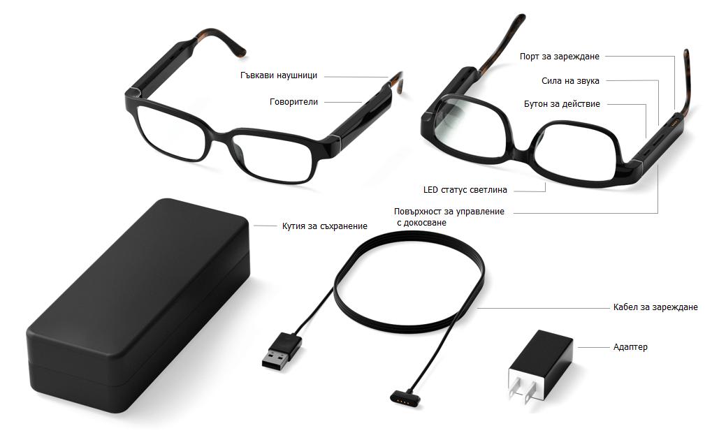 амазон алекса echo frames очила