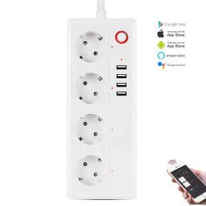WiFi смарт разклонител 16 ампера