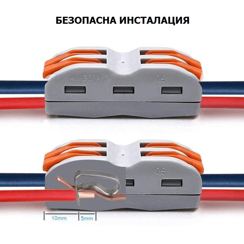 безопасна инсталация на WiFi RF контролер