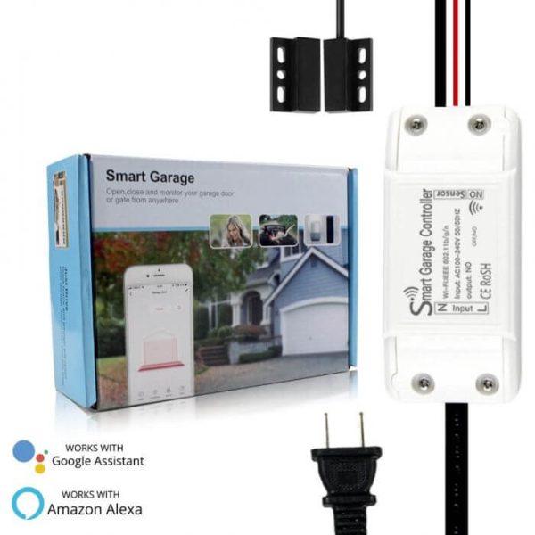 WiFi смарт контролер за гаражна врата