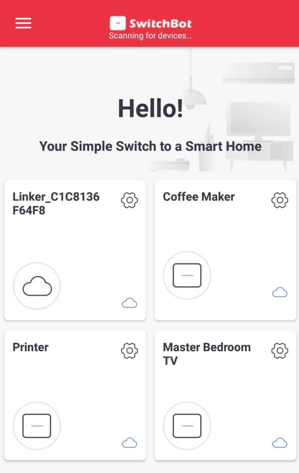 switchbot app приложение