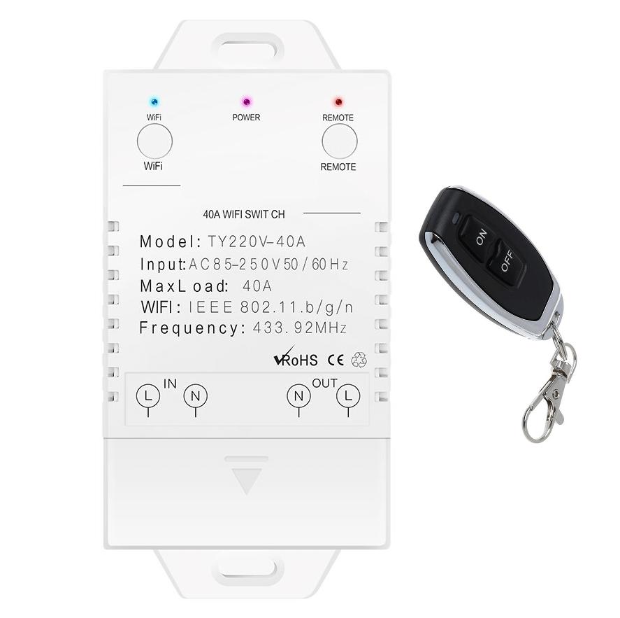 WiFi RF контролер 40ампера 9кв