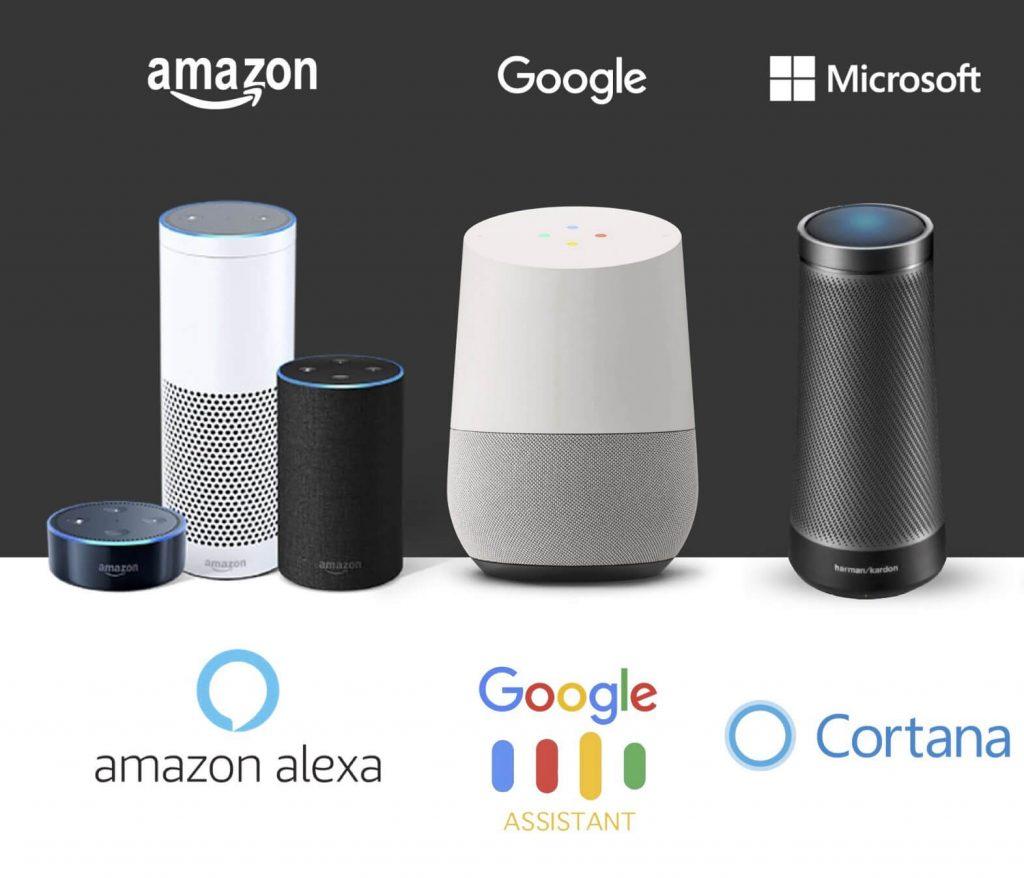 alexa google cortana гласови асистенти