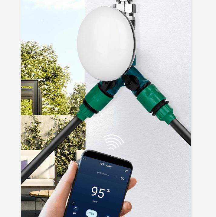 WiFi сферичен вентил