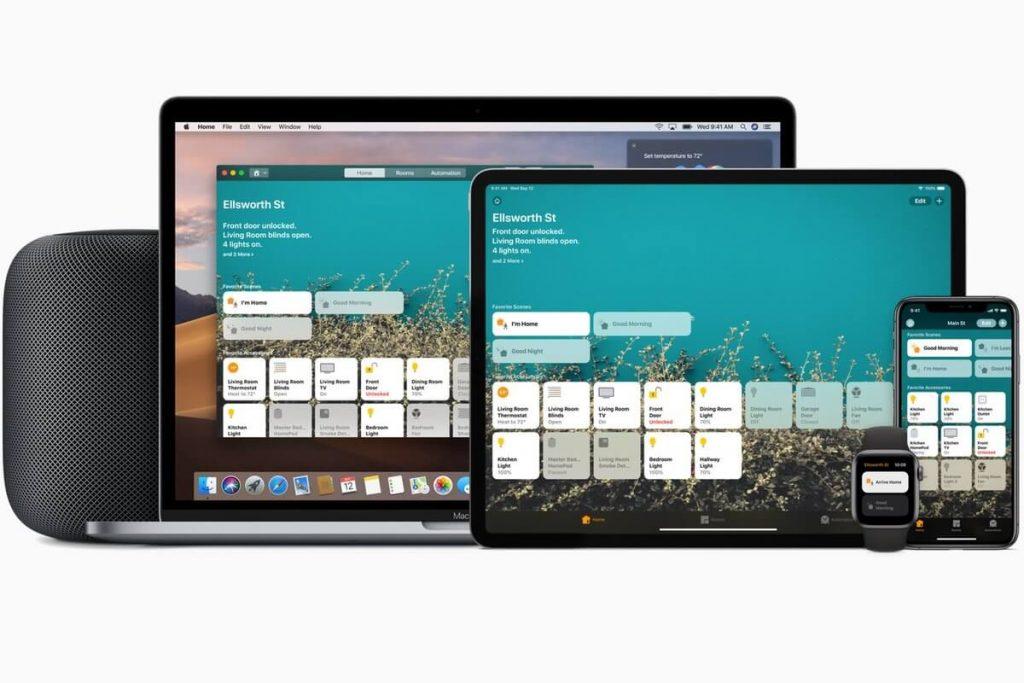 apple homekit платформа