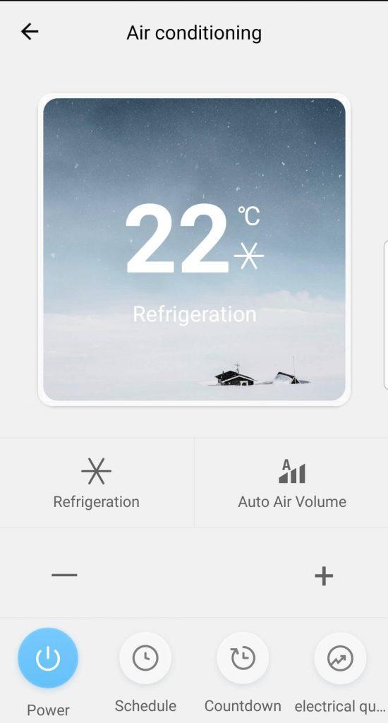 дисплей за управление на климатик