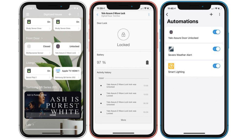 samsung smartthings платформа