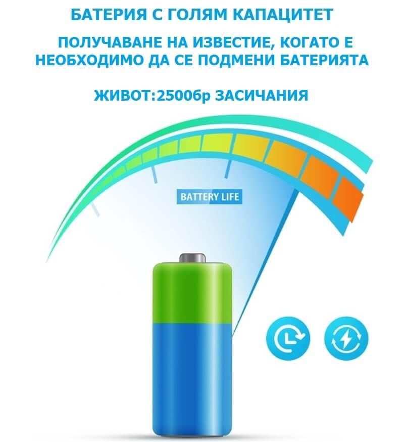 безжичен сензор за движение с батерия