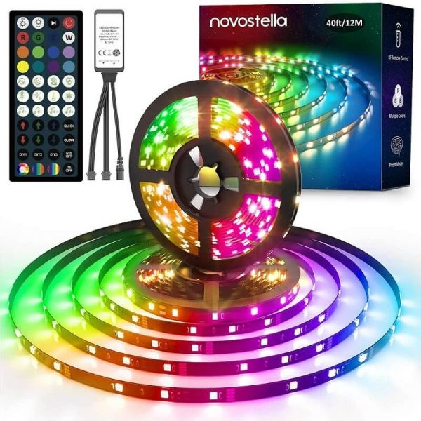 novostella rainbow dreamcolor 12m led лента