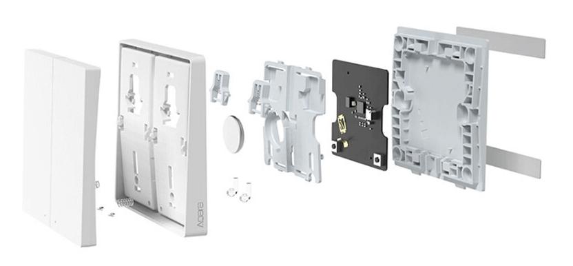 съставни части на Aqara D1 безжичен ключ