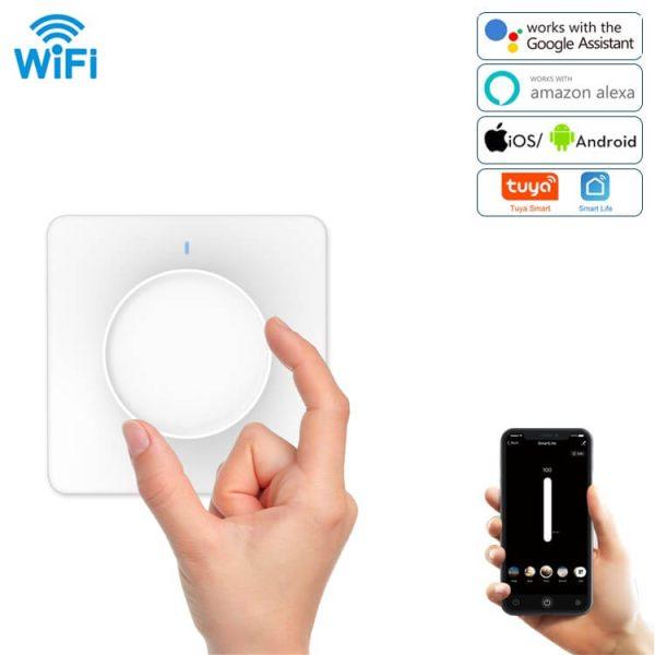 WiFi димер с врътка