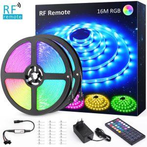 RGB LED лента 16м с дистанционно
