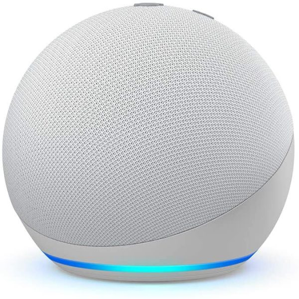 amazon echo dot 4 glacier white