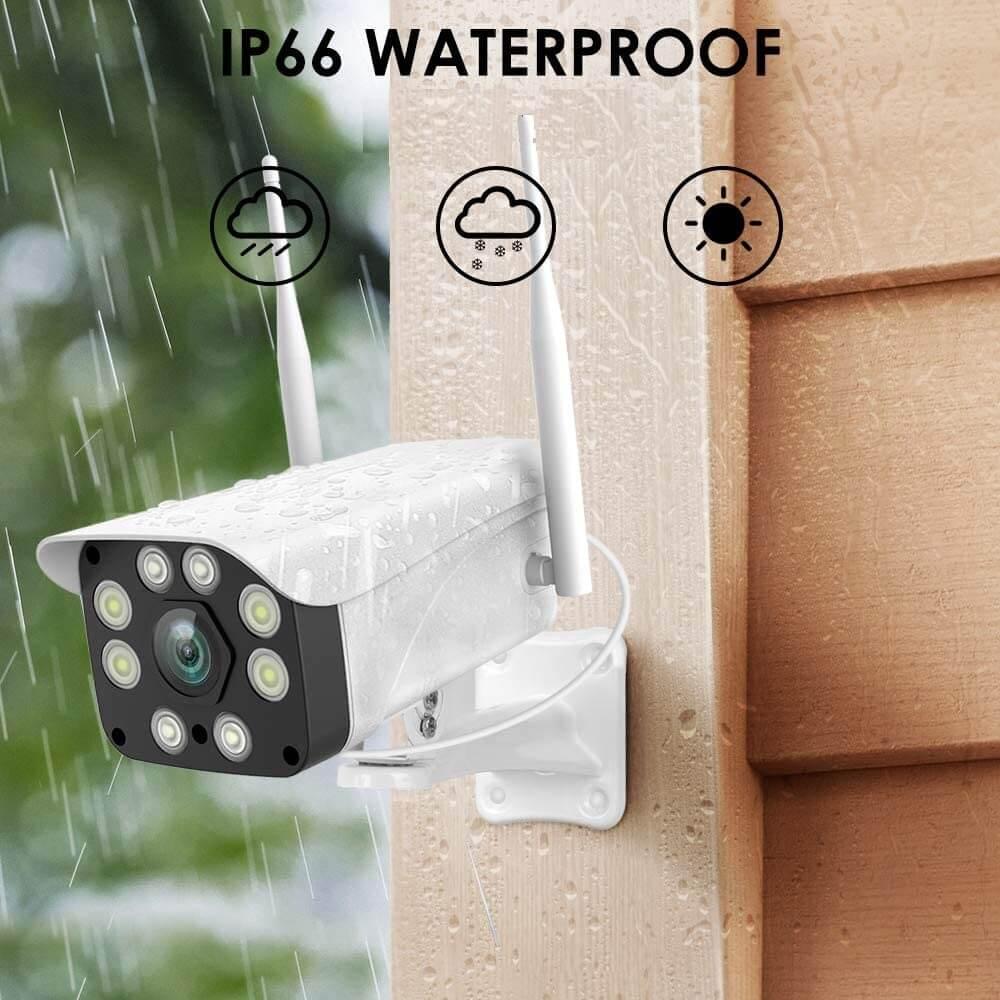 ip66 сертификат за защита на камерата