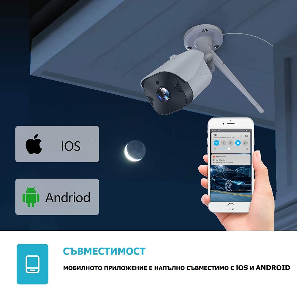 WiFi камера андроид ios