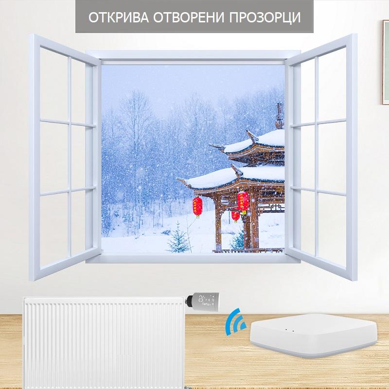 откриване на отворен прозорец