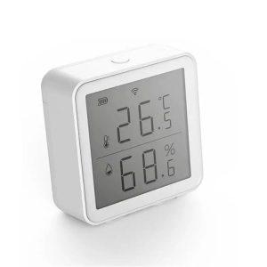 умен датчик за температура и влажност с дисплей