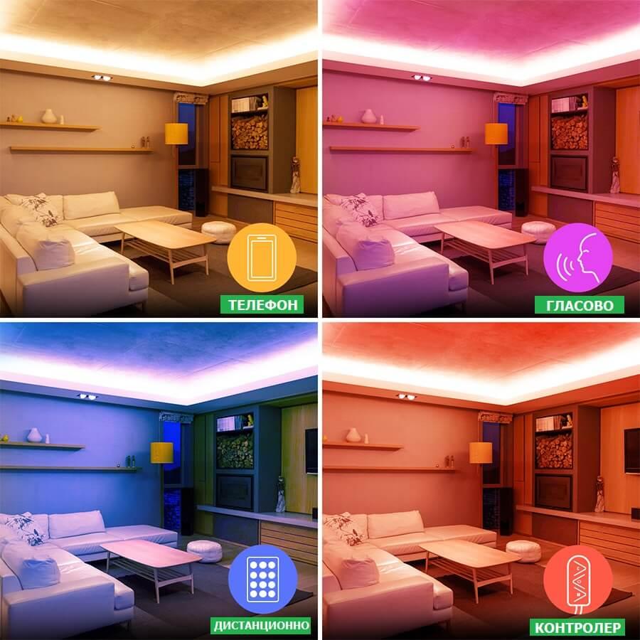 управление на WiFi Музикален RGB контролер