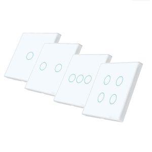 RF безжични ключове бял цвят