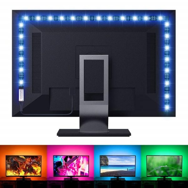 led лента за фоново осветление на екрани
