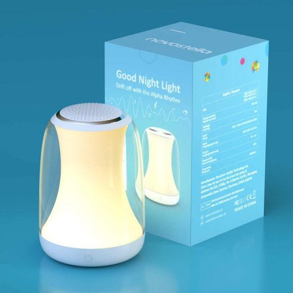 опаковка на лампа за бебета novostella