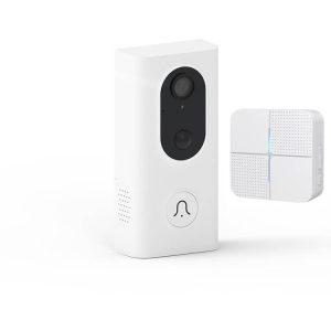 WiFi видео звънец бял