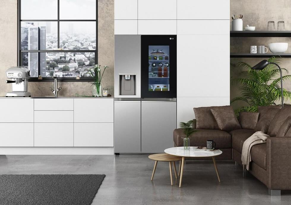 LG Instaview hladilnik