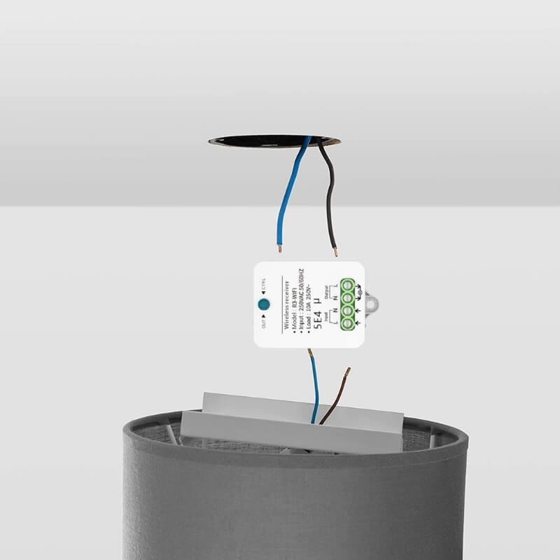 монтаж на контролер за кинетичен ключ