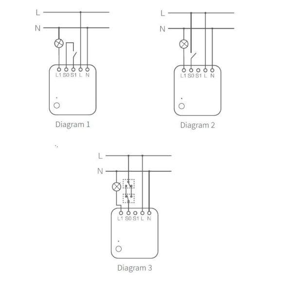 инсталиране на реле aqara Т1 с нулев проводник