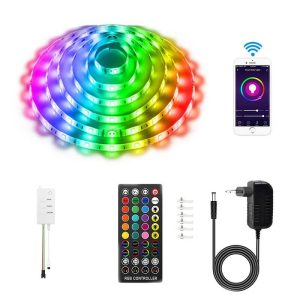 комплект на RGB DreamColor LED лента музикален синхрон