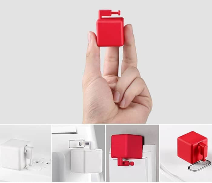 fingerbot натисквач на бутони