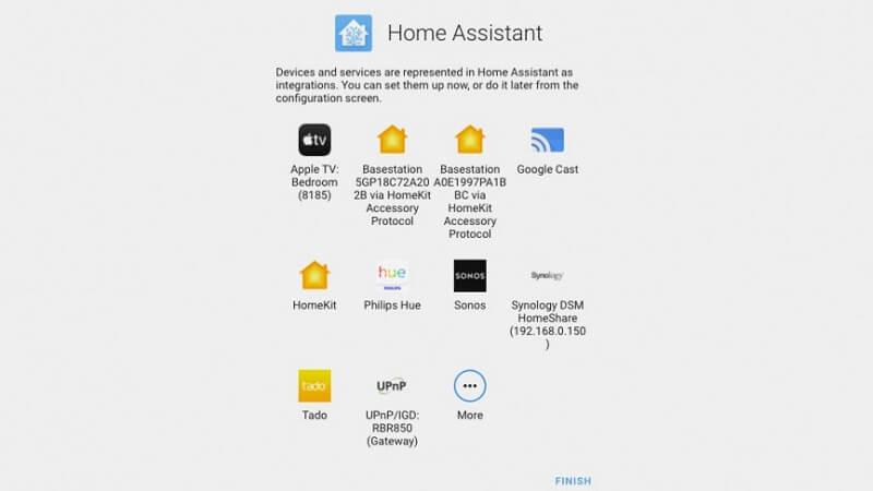 home assistant автоматично открити устройства