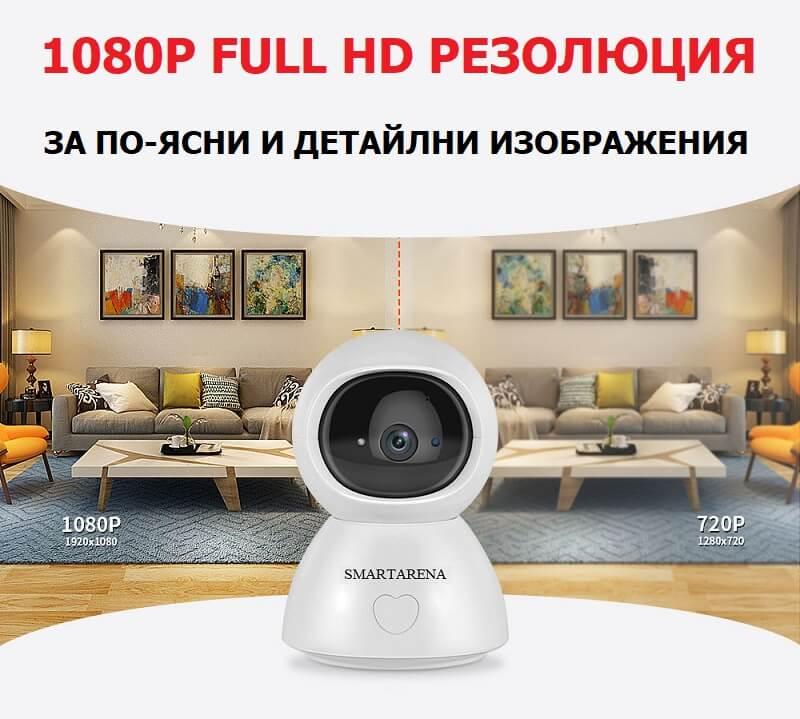 wifi камера full hd изображение